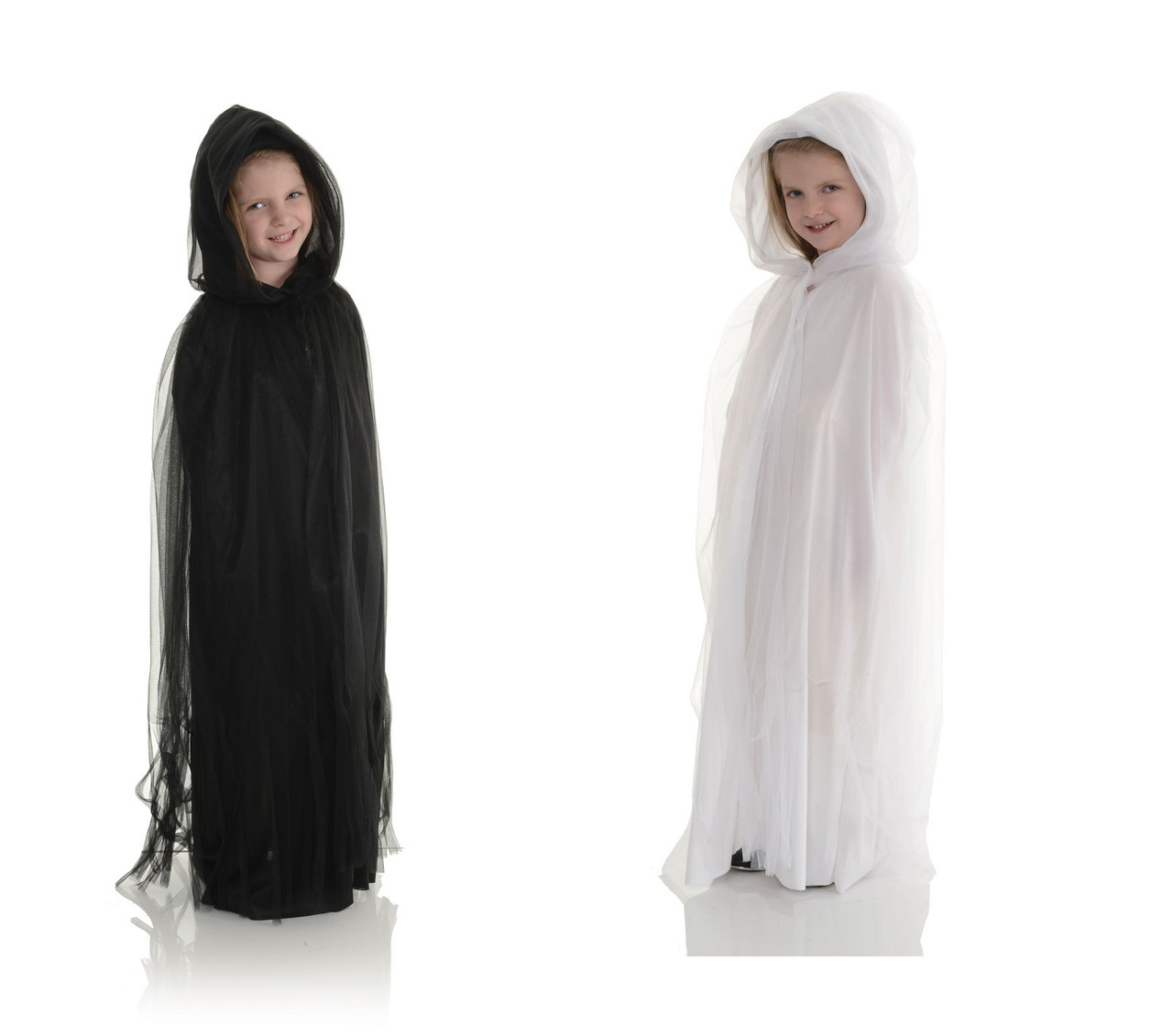 Halloween Costumes For Kids Girls Zombie.Tulle Cape Long Witch Zombie Dark Princess Queen Kids Girls Halloween Costume Accessory