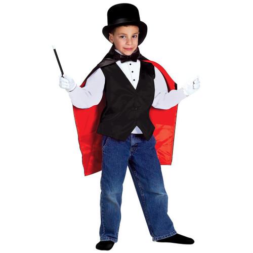 Jr. MAGICIAN magic hat play gift child girls boys halloween costume SMALL 5-9