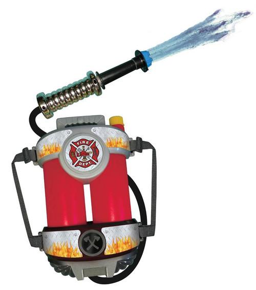 FIRE POWER SUPER SOAKER water gun boys toy game backpack fire hose fire fighter