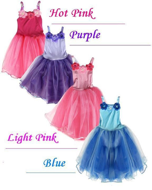 light pink PRINCESS DRESS sequin flower girl kids girls halloween costume L