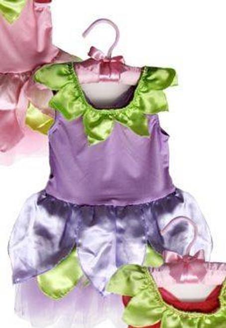 PURPLE SATIN FAIRY DRESS toddler baby kids girls flower halloween costume 6-12M