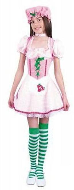 Girls Strawberry Shortcake Dress - Large