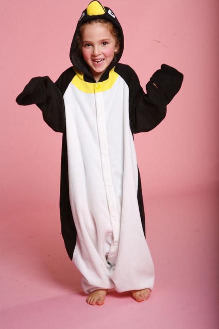 Penguin animal kids girls boys costume pajamas fleece BCozy