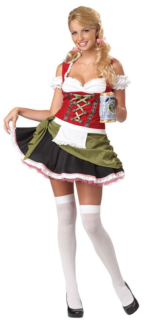 BAVARIAN BAR MAID womens adult halloween costume XL