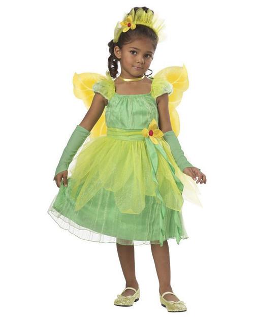 BLOSSOM FAIRY princess dress kids toddler girls halloween costume pixie 4-6