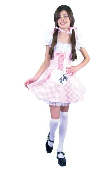 MISS MUFFET petticoat girls halloween costume 12-14