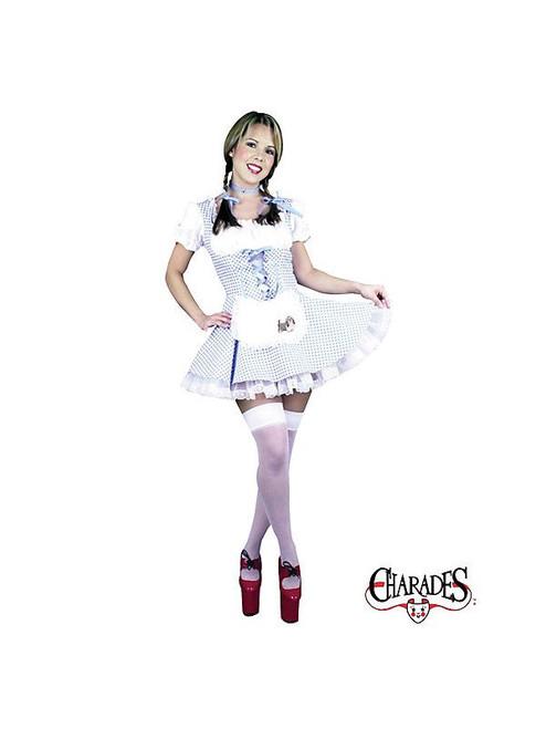 DOROTHY FREE petticoat sexy halloween adult costume M