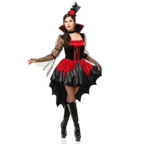VAMPIRESS vamp vampire goth ball gown sexy adult womens halloween costume SMALL