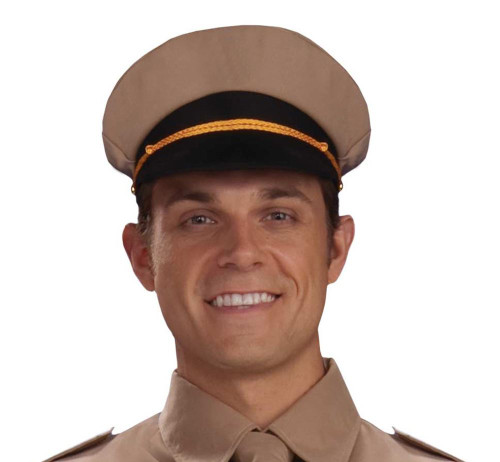 WW2 General's Army Hat adult costume