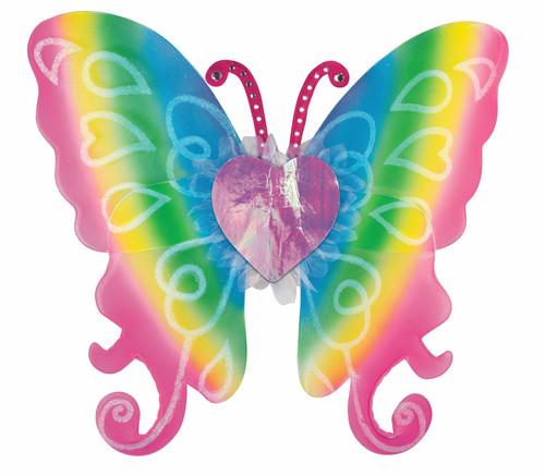 Rainbow Fairy Wings Costume Accessory Kids 14+