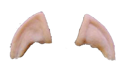 ELF EARS latex cosplay hobbit prosthetic fairy halloween costume accessory