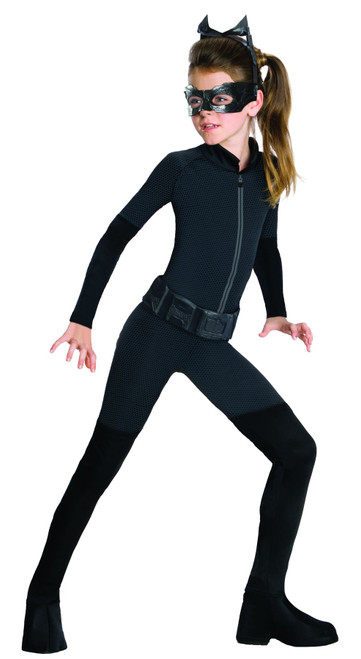 Girls Catwoman Costume with Mask