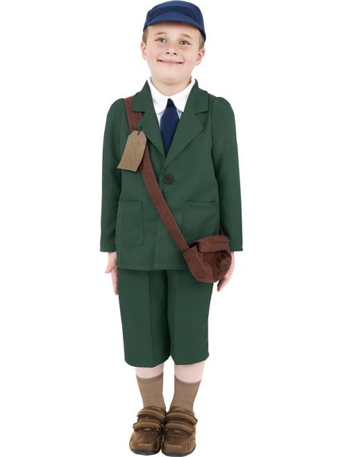 Warld War 2 Eavcuee Boy Costume