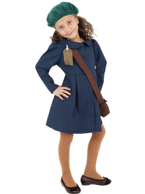 World War 2 Evacuee Girl Costume