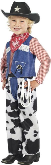 Kids Western Cowboy Cow Print Ropin Boys Cowboy Halloween Costume Dress Up Hat