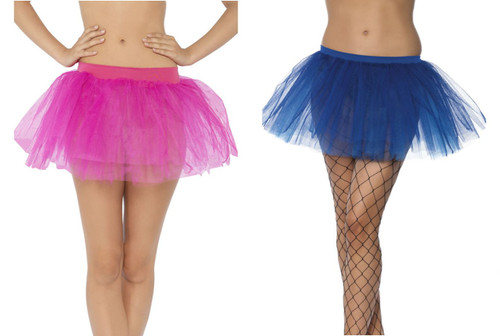 Womens Tutu Underskirt 4 Layers
