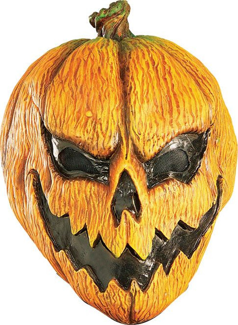 Scary Evil Pumpkin Mask