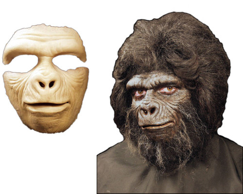 Gorilla Mask Foam Latex Prosthetic