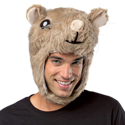 Hamster Head kia commercial adult mens kids funny laplander halloween costume