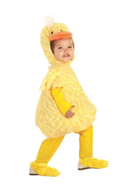 Plush Yellow Duck Toddler Costume