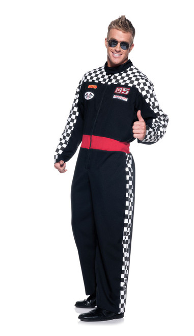 Speed Demon Racecar Driver Men's Costume