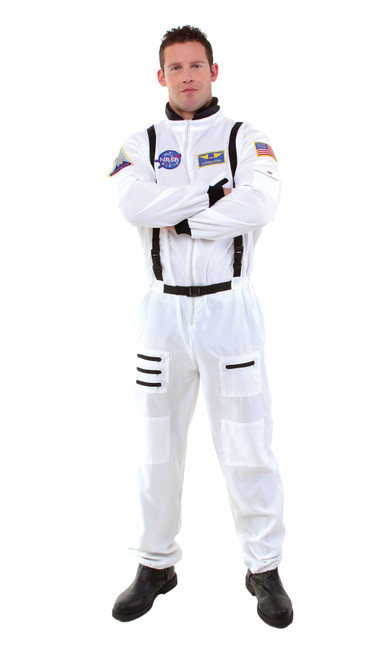 Adult Astronaut NASA Spacesuit Jumpsuit Halloween Costume