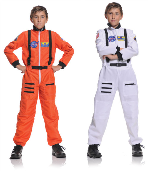 Astronaut Jumpsuit Kids Costume