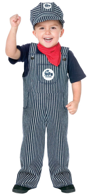46f0b358ddd kids boys Deluxe Train Engineer Conductor Hat Halloween costume ...