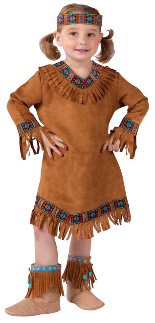 Native American Pocahontas Indian Girls Halloween Costume Toddler