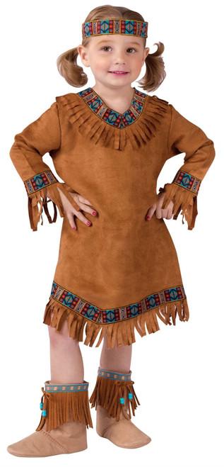 Native American Pocahontas Indian Girls Halloween Costume Toddler