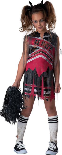 Spiritless Zombie Cheerleader Girls Halloween Costume