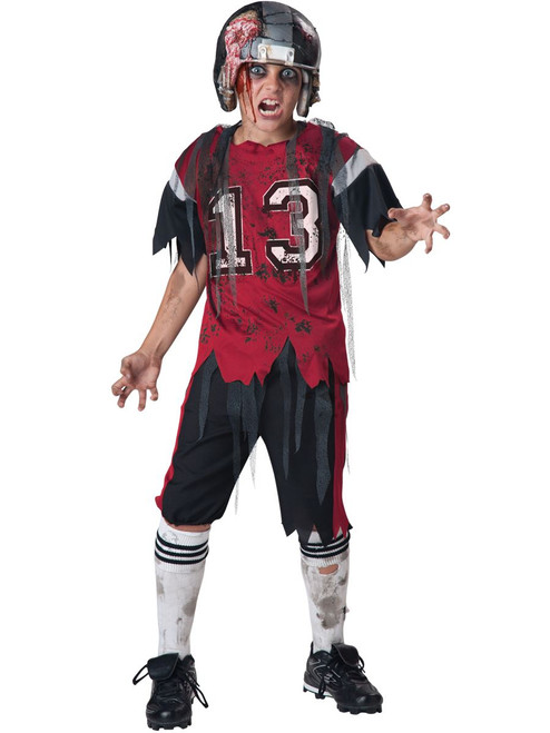 Kids Football Zombie Costume