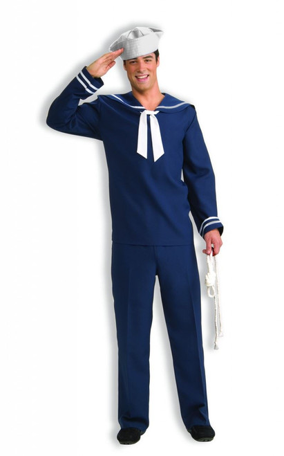 AHOY MATEY SAILOR ship mate mens navy nautical military marine halloween costume