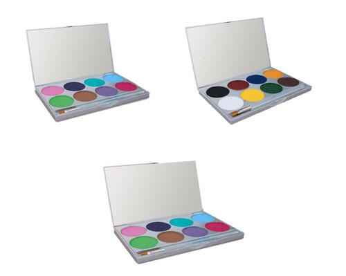 Paradise Makeup AQ - 8 Color Palette - Style 808 by Mehron