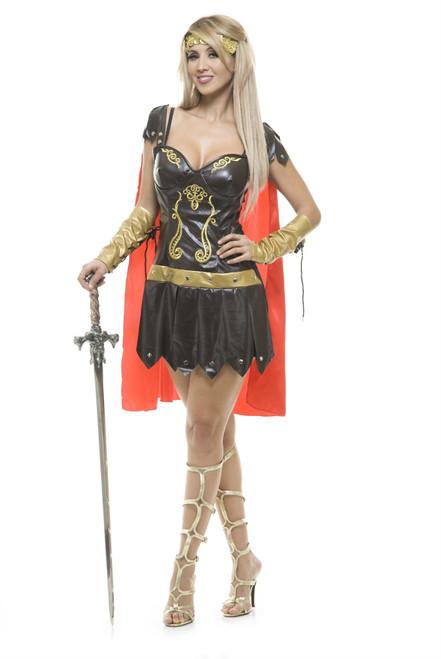 Xena Warrior Queen Costume Womens