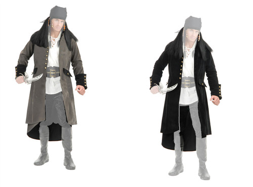 Treasure Island Mens Pirate Jacket by Charades