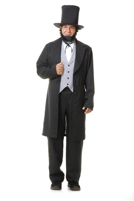Abe Lincoln With Hat Adult