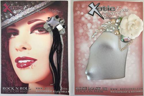 Xotic Eyes Reusable Stick On Eye Mask