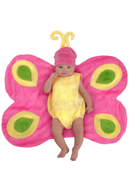 Beautiful Butterfly Catepillar Swaddle Wings Infant Costume 0-3M