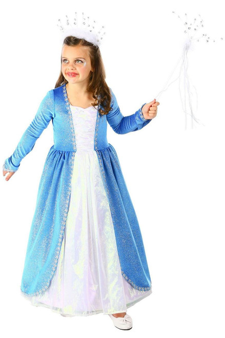 Blizzard Queen Frozen Elsa Costume Child