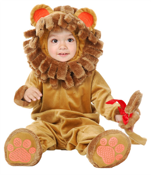 LITTLE LION cub jungle king animal toddler boys girls halloween costume 2T - 4T