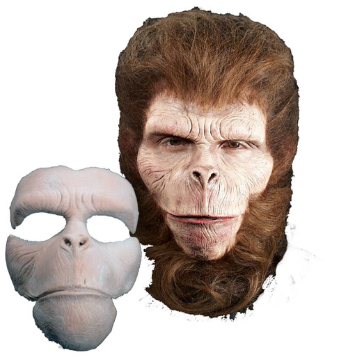 Chimp Face Foam Latex Prosthetic Theater Appliance