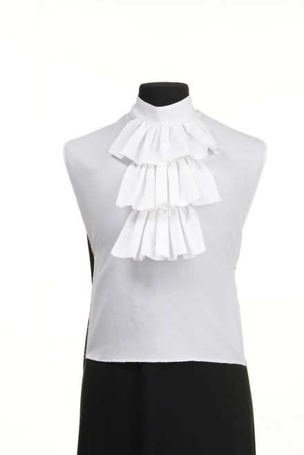 Ruffled Jabot Shirt Collar Costume Accessory