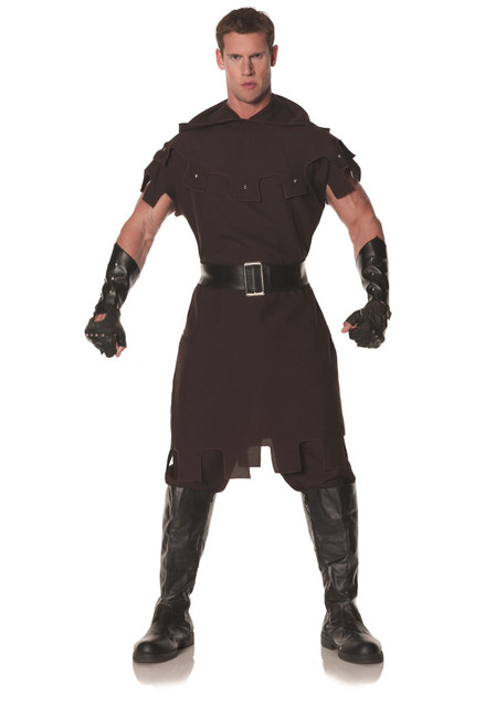 MEDIEVAL EXECUTIONER enforcer renaissance robin warrior mens halloween costume
