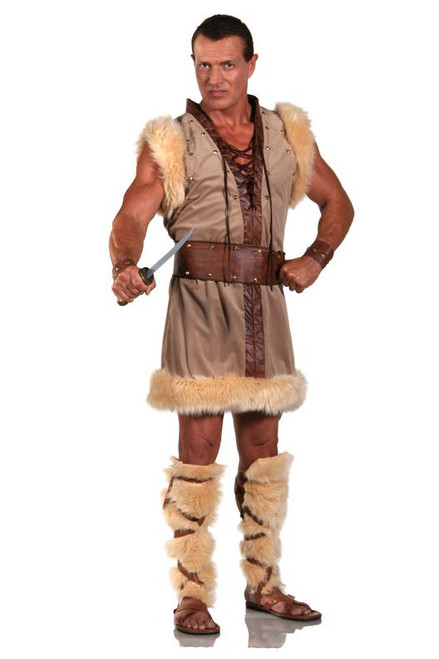 BARBARIAN viking THOR adult mens halloween costume