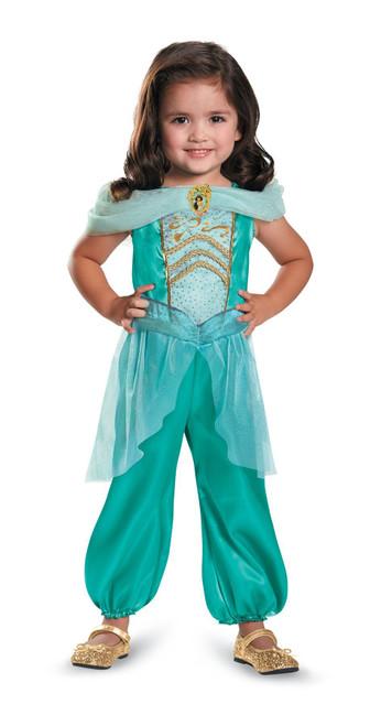 Jasmine Girls Costume Toddler Classic Officially Licensed Disney Halloween