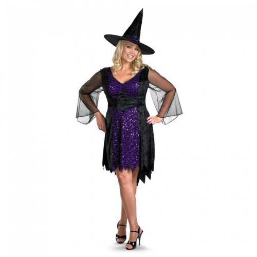 Brilliantly Bewitched Witch Costume 23884 by Disguise