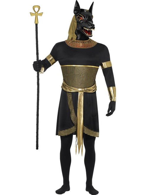 Anubis the Jackal Black Tunic Mens Costume