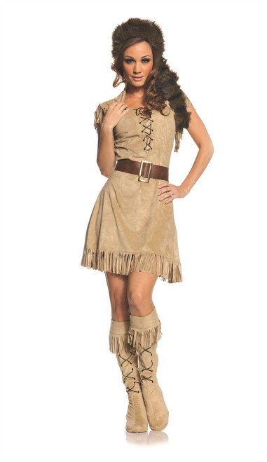 Wild Frontier Girl Adult Costume
