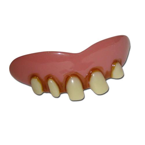 False Stained Teeth Rotten Hillbilly Hobo Costume Origianl Billy Bob Adult Novelty